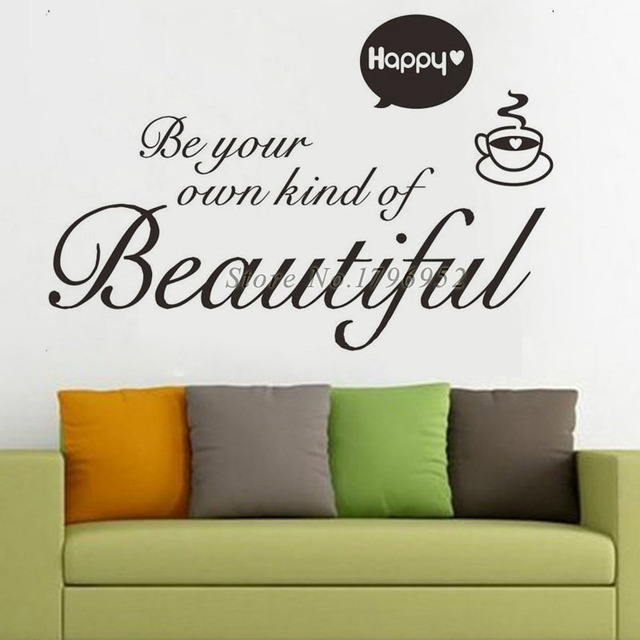 Aliexpresscom Buy Be Your Own Kind Of Beautiful Wall Stickers - Vinyl stickers designaliexpresscombuy eyes new design vinyl wall stickers eye wall