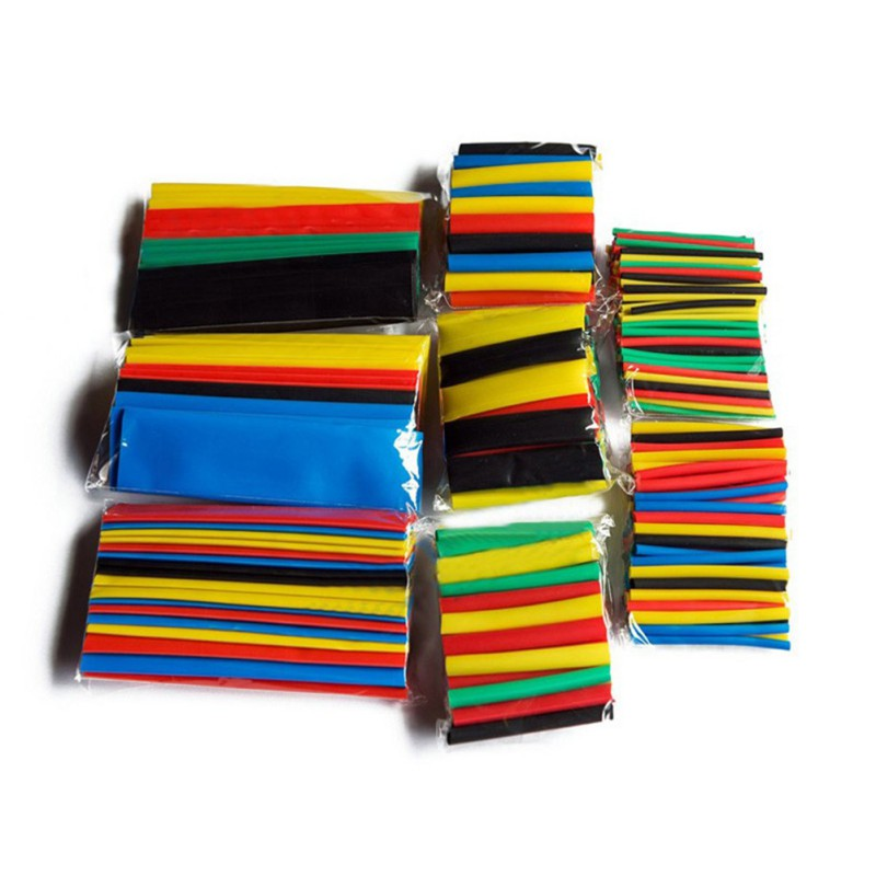 328 pcs Assorted Heat Shrink Tube Wrap Sleeve Electrical Insulation Cable Tubing