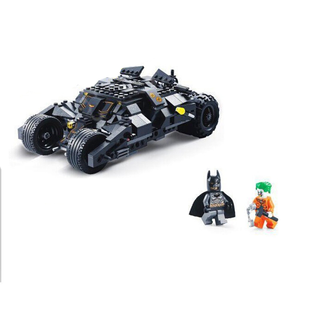 2016 DC Batman Joker Batman Batmobile Tumbler Batwing Compatible Con juguetes Super Heroes Bloques de Construcción de Juguete Juguetes