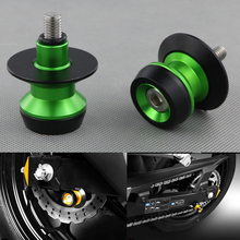 Motorcycle CNC Swingarm Spools sliders Screws For KAWASAKI Z650 2017-2018 Z800 2013-2018 Z900 2017-2018 Z1000/Z1000SX 2014-2018 цена