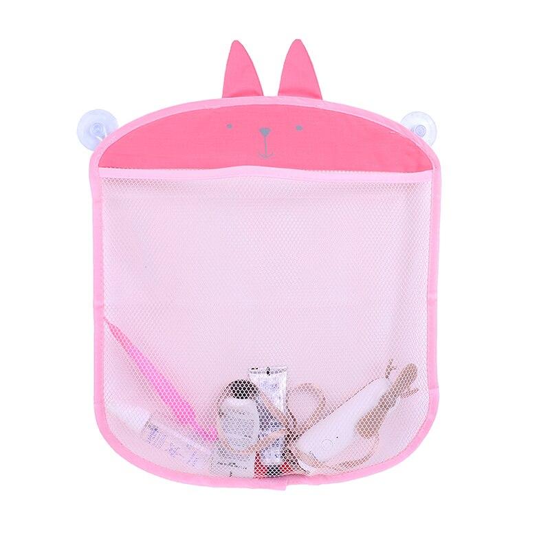 Bath Baskets Smart Bathroom Mesh Bag Baby Kids Basket Net Cartoon Animal Shapes Waterproof Cloth Sand Toys Beach Storage
