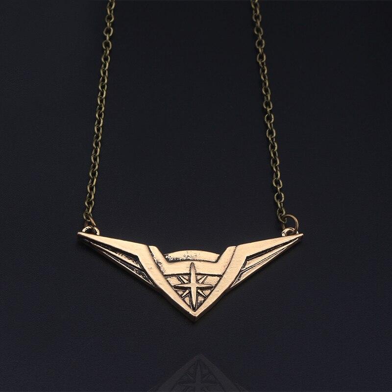 S/C Новый Модные украшения фильм СУПЕРГЕРОЙ Wonder Woman крутящий момент логотип Цепочки и ожерелья Подвеска Аксессуары