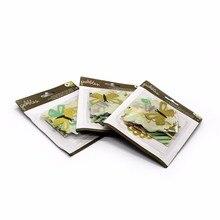 Получить скидку Орнамент карта с различными животными цветы торт письма любовь толстый картон канцелярские принадлежности закладки