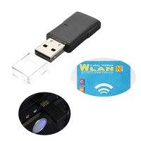 Portable Mini USB 300Mbps Wireless USB WiFi Network Card LAN Adapter Dongle 802 11n G B