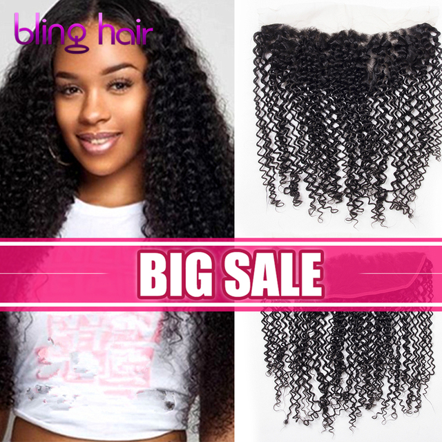 Raw Indian Virgin Hair Kinky Curly Weave 4 Bundles With Lace Frontal Closure Indian Human Hair Jerry Curly With Frontal Closure