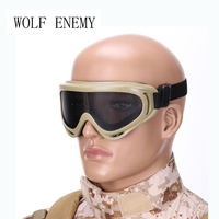 2016 New Fashion Army Green Airsoft Tactical Metal Mesh Eyes Protection Goggle Glasses Eyewear