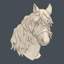 Carving Aspire Cnc Router Horse-Head Format 3D Artcam M98 Relief-Model In-Stl