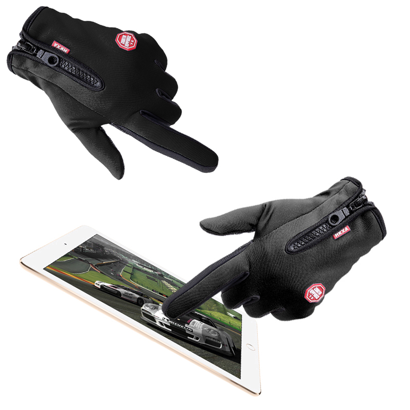 Hot Screen Touch Motorcycle Gloves Bike Cycling Gloves Full Finger Warm Outdoor Sports M L XL Size uniformly fabulous
