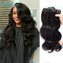 Peruvian Virgin Hair Body Wave Unprocessed  Human Hair Weave 4 Bundles Hair Extension Peruvian Virgin Hair Bundles Body Wave