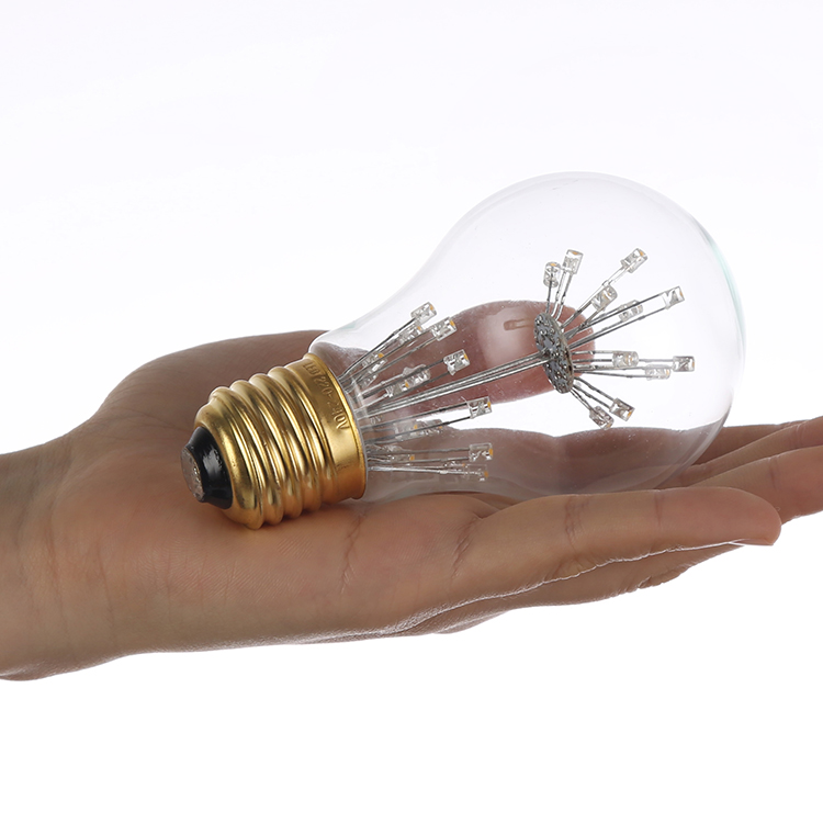 HHO Antique Edison Light Lamp Bulbs A60 220V E27 3W Tungsten Incandescent Light Bulbs Retro Party Lighting Decor
