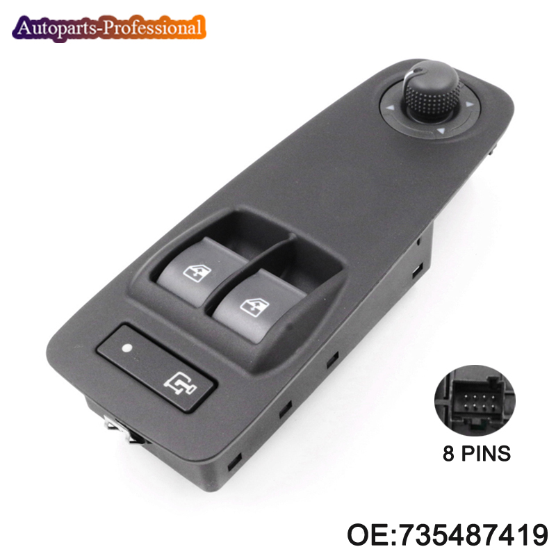 FOR PEUGEOT BOXER CITROEN RELAY FIAT DUCATO ELECTRIC WINDOW SWITCH 735487419 NEW new egr valve for citroen relay peugeot boxer fiat ducato 2006 2 2 hdi 1618r5