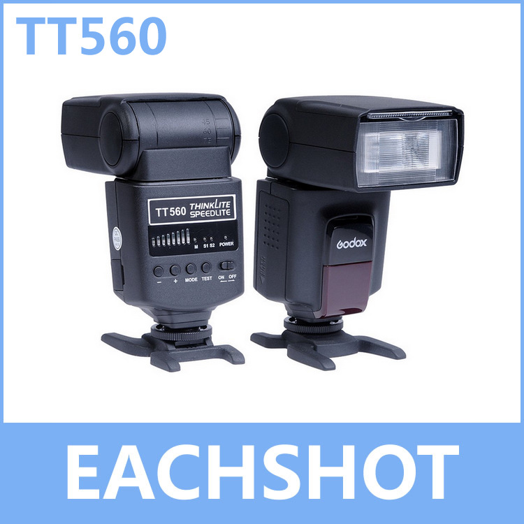GODOX TT560, ThinkLite Speedlite Camera Flash for Nikon for Canon for Pentax for Olympus for Sony DSLR Camera цена