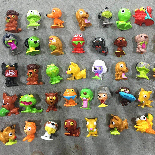 30/50 pcs/lot Hot Sale Soft Pet Puppy Dolls Action Figures Toy Dogs 4cm Pup Doggies Kid's Favorite Gift Birthday Christmas Gift