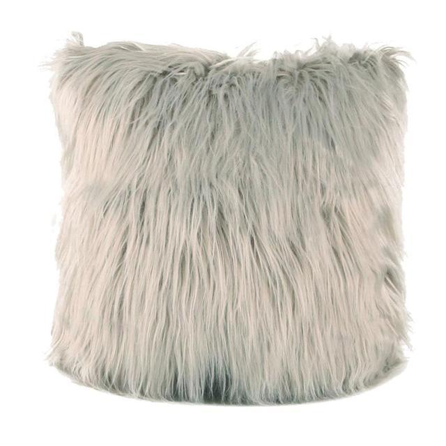 Di MODO Coperture per Cuscini 45*45 Peluche Furry Fodere per Cuscini A Casa di C