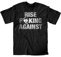 RISE AGAINST - Rise F**ing Against - T SHIRT S-M-L-XL-2XL Brand New Official Good Quality Brand Cotton T-Shirt Summer Style