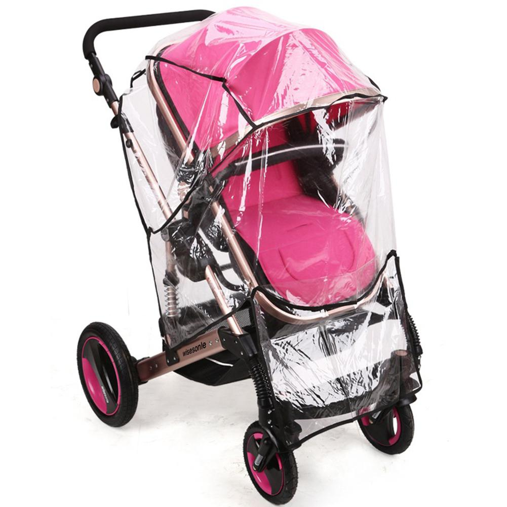 Kidlove Universal Stroller Rain Cover Waterproof Baby Carriage Rain-Proof Transparent  Dustproof Snow Wind Shield For Pushchairs
