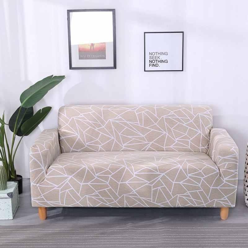 مرونة غطاء أريكة لغرفة المعيشة أريكة الغلاف تمتد شامل غطاء أريكة الاقسام واحد وفيسيت غطاء 3/4-مقاعد