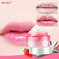 HOT BIOAQUA Natural Jelly Sleeping Lip Mask Moisturizer Long Lasting Hydrating Anti Aging Repair Lip Wrinkles Women Skin Care