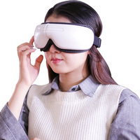 Eye Massager Anti Migraine Remove Dark Circle Electric Intelligent Eye Massage Instrument Pneumatic Thermal Music Eye Protector