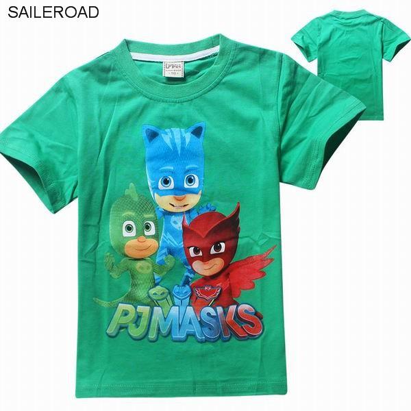 saileroad новая летняя коллекция детской одежды для мальчиков и девочек футболки для мальчиков с принтами из мульти топы футболки