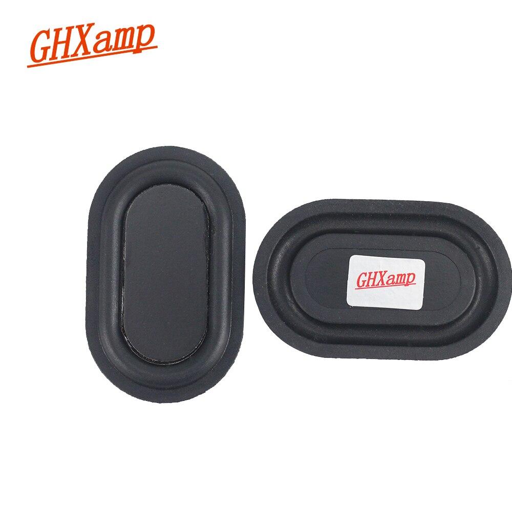 GHXAMP 2PCS 3050 MM Boost Bass Radiation Passive Radiator Speaker Rubber Vibration Membrane Plate For Subwoofer Speaker DIY