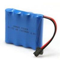 1/2/4 paket Anmaspower 4.8 V 1400 mAh RC Ni-cd AA Piller nicd SM 2Pin fiş şarj edilebilir pil