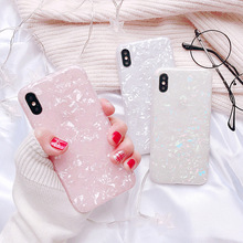 Glitter Phone Case For Samsung Galaxy S10 S10plus S9 S8 plus marble Dream Shell