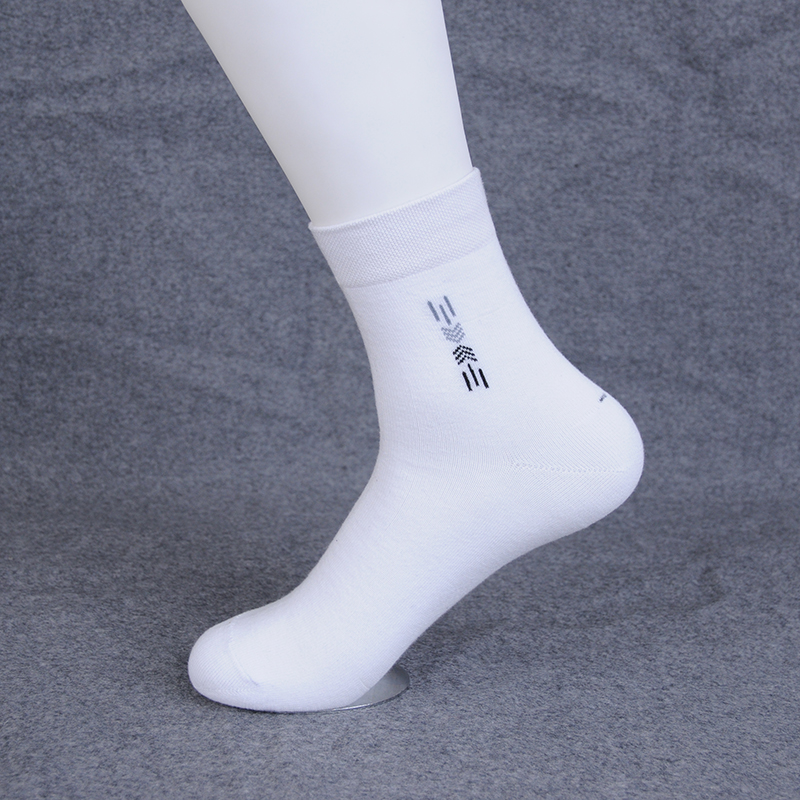 3pair lot Men s Business Summer Compression Socks Breathable Cotton Solid For Man Socks Male White