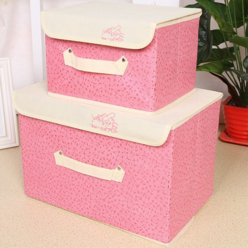High Density Thick Cardboard Triangle Lid Fashion Storage Box ...