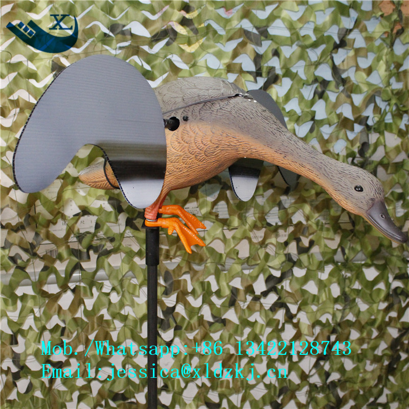 ФОТО Xilei Outdoors Duck Decoy Molds Spinning Wings Motorized Hunting Decoy