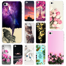 New Fashion Perfect Design Painting Pattern Case For Apple iPhone 4s 4 Hard Plastic Back Cover For iPhone 4s Phone Cases protective plastic back case with folding stand screen protector for iphone 4 4s green