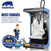 Промышленного класса Motion системы, Высокая стабильность и точность wanhao D5S 3D принтер с большой строительный Размеры 295x195x590 мм