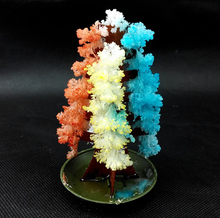 iWish 2019 100PCS 10x6cm DIY Visual Multicolor Magic Growing Paper Tree Magically Grow Christmas Trees Japan Science Baby Toy