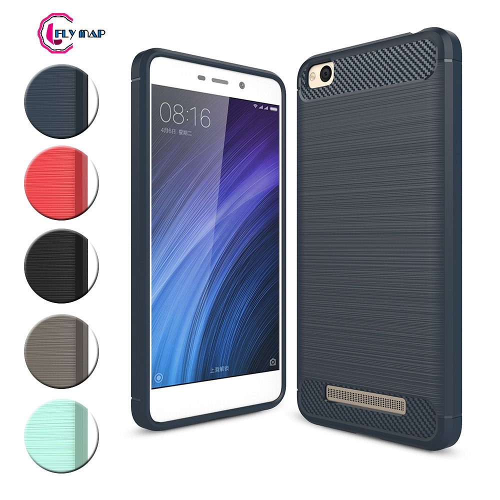 TPU Case for Xiaomi Redmi 4A 4 A Redmi4A Soft Silicone Carbon Fibe Case Mobile Phone Cover for Xiaomi Redmi <font><b>A4</b></font> Red <font><b>mi</b></font> 4A Coque image