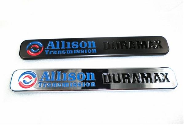 Allison Transmission Duramax Emblem