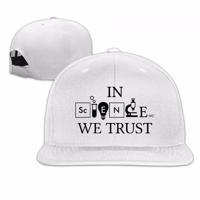 8785e09a9f0 2017 fashion In Science We Trust hot sale Man Women hip hop bone tumblr  snapback Sun mesh Baseball cap hat