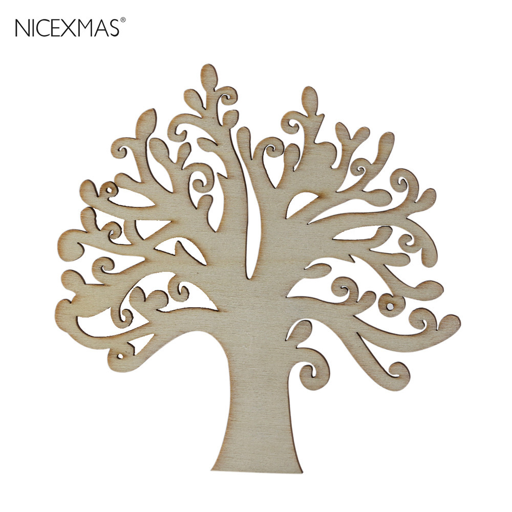 10pcs Wooden Bicycle Wood Craft for Rustic Theme Wedding Party Home Decor