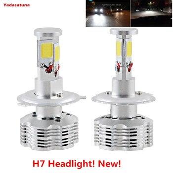 2x H7 LED Faro Bombillas Alquiler de luces LED 120W 12000Lm LED...