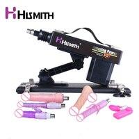 HISMITH обновленная версия секс-машина женская мастурбация насосная пушка, автоматическая Вибрационный пистолет, секс-машины для женщин, прод...