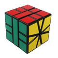 2016 New Shengshou Skew Cubes Black Background Magic Cube Speed Puzzle Cubo Magico Educational Toys for Kids Free Shipping -50