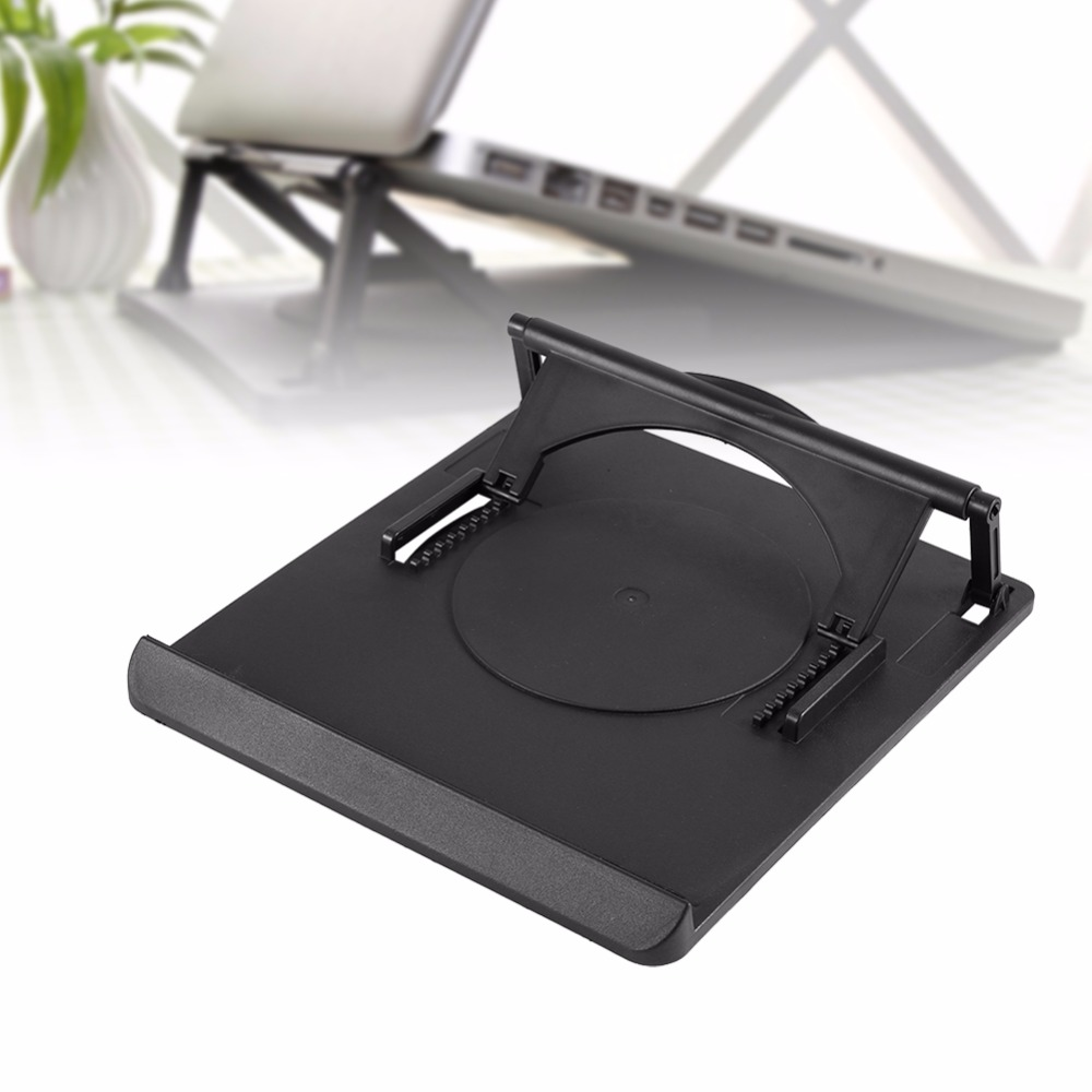 Adjustable Cooling Cooler Table Fan Stand Holder for Notebook Laptop Universal Laptop Cooler Fan Holder Pad Notebook Stand