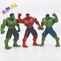 Anime Super Hero The Hulk Pvc Action Figure Toy 26cm Red Hulk Figures Toys Character Children Gift