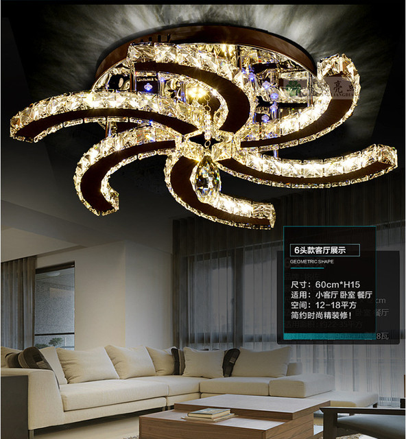 2015 New Modern ceiling fan design LED lustre ceiling ...