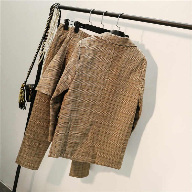 Wysokiej jakości nowy garnitur kurtka + spodnie casual wear moda damska spódnica trzyczęściowy garnitur