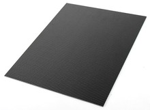 3K  100%  Carbon Fiber plate thickness 2.5mm  panel sheet plain Weave Glossy Matt 300mmX400mmX 2.5mm