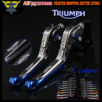 CNC Adjustable Folding Motorcycle Brake Clutch Levers For Triumph TIGER 1050 Sport 2007 2008 2009 2010