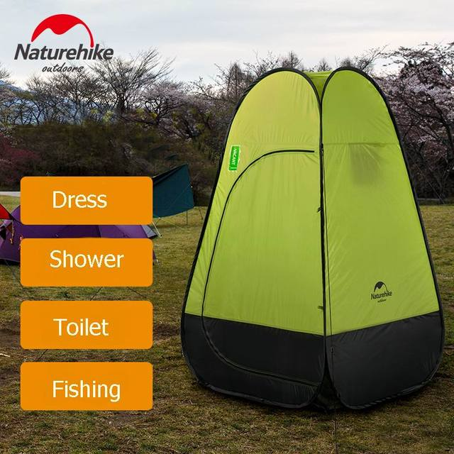Waterproof Single Layer Camping Tents Portable Outdoor Automatic Opening Fishing Tent PU2000mm For Shower Toilet Dressing