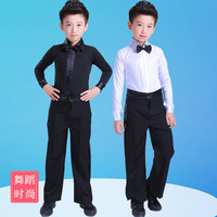 Children Standard Test Class Dress Professional Competition Dress Boys Latin Dance Performance Wear Boys Latin Dance M16
