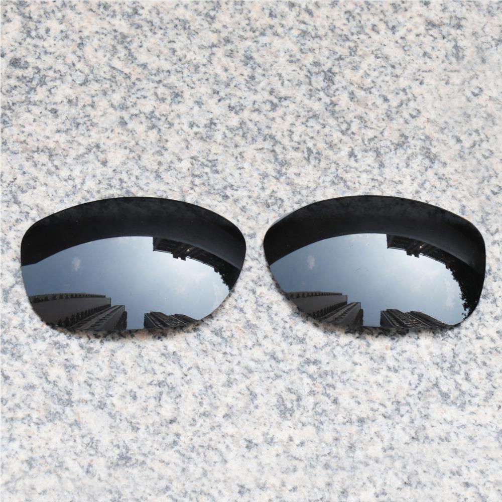E.O.S Polarized Enhanced ReplacementLensesforOakleyPit Bull Sunglasses - Black Polarized