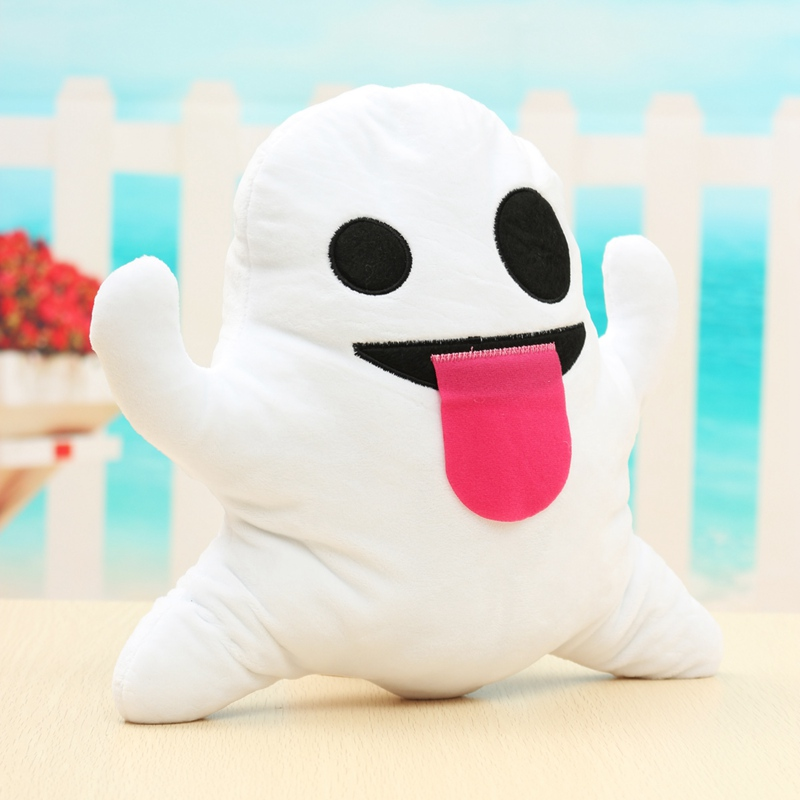Poop Smiley Ghost Emoji Pillow Cushion Soft Emoticon Stuffed Plush Toy Doll Gift Funny Emoji Cushion Staff Children Doll toy 95% new good working for daikin air conditioning ry125dqy3c motherboard computer board ec0435 5 horses outside board on sale